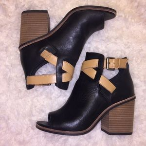 Aldo Open toe booties